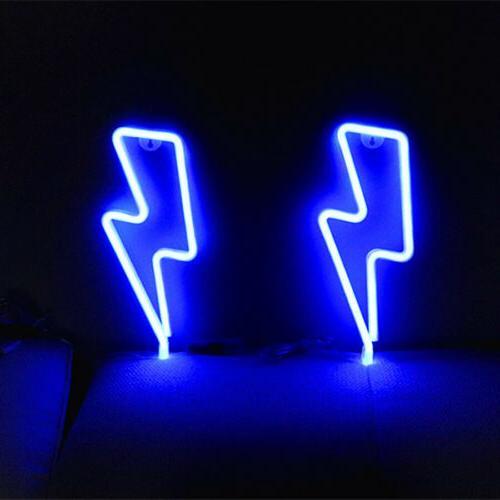 LED Light Store Artwork Blue US