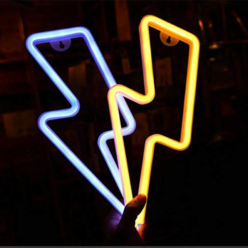 LED Neon Wall Battery Operated,Night Lamps Art Decor,Wall for Home Room
