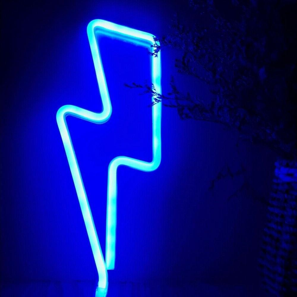 led neon sign night light wall lamp