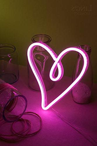 Battery Neon Lights Hanging Sign Novelty For Women Hawaii Party Shower Birthday Decor