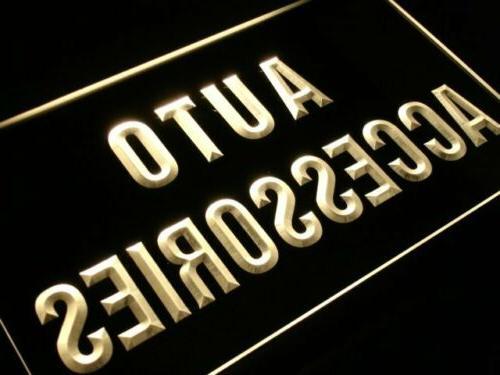 m057-b Auto Accessories Neon Light Sign