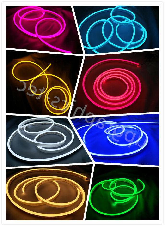 mini led neon rope light dc12v diy