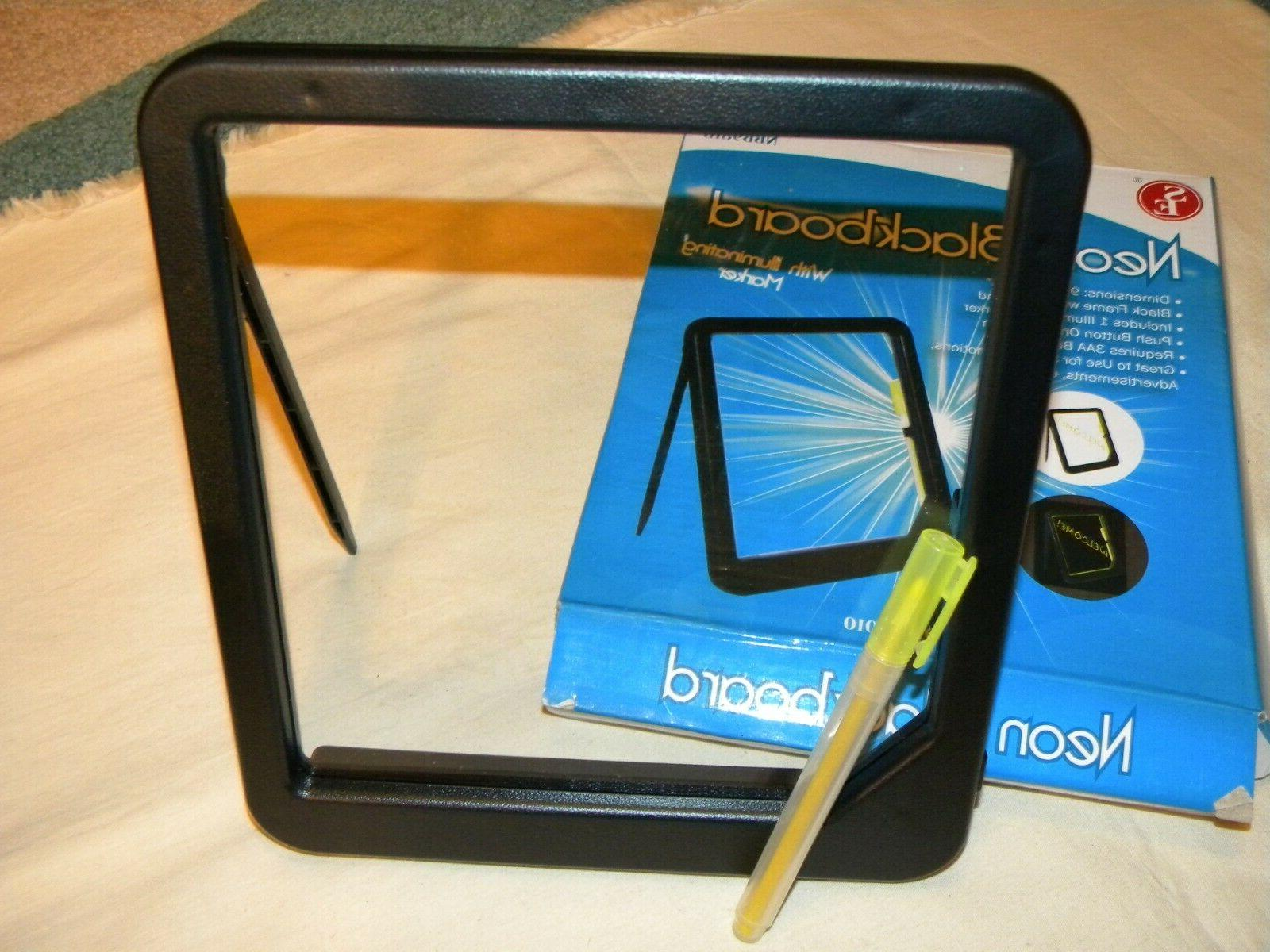 NEON MARKER SIGNS, PROMOTIONS, NEW