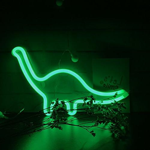 Dinosaur Light,Wall for Party,Kids Living Wedding