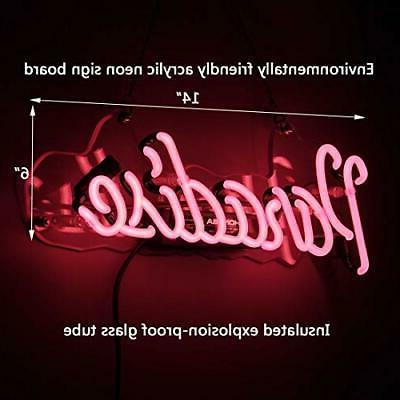 Neon Neon Handmade Glass Sign Gift Pub