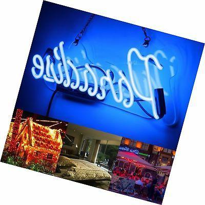 Neon Light Sign Neon Bar Sign Handmade Glass Gift Pub