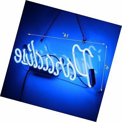 Neon Sign Neon Bar Glass Sign Gift Pub