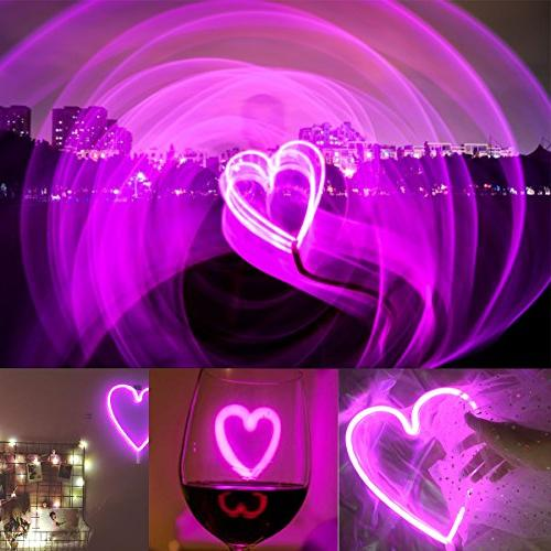 LUCKIEY Lights,LED Neon Art Decorative Lights Wall Bedroom light for Christmas,Birthday,Valentine's Party