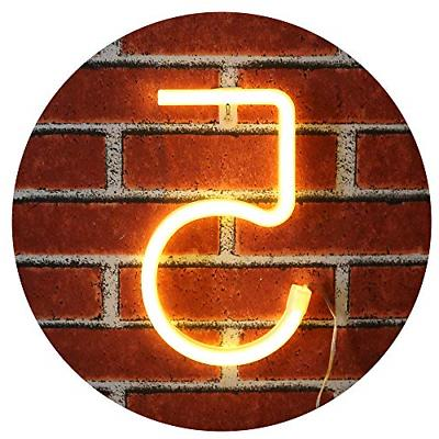 neon number sign wall decorative neon lights
