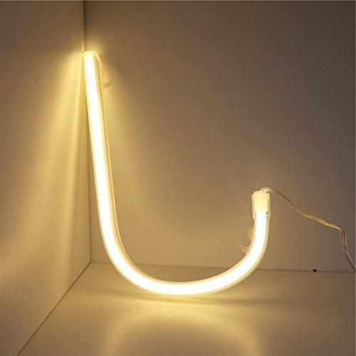 DELICORE Neon Night Lights LED Neon Art Decor for Birthday Party Christmas J
