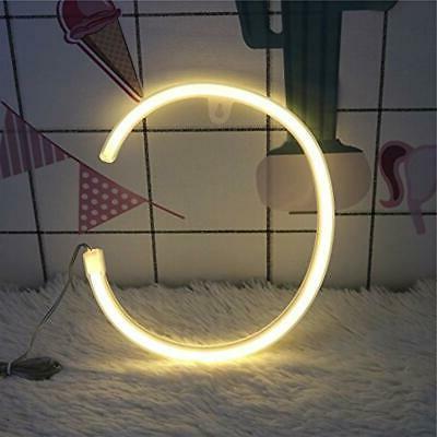 DELICORE Neon Signs Night Lights Alphabet Art