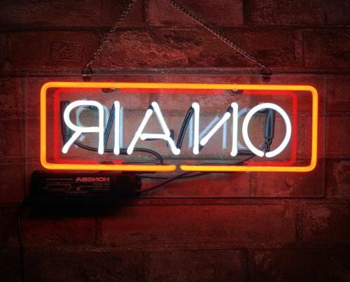 """ON AIR"" Custom Neon Signs Wonderful Gift Handmade Art Light"
