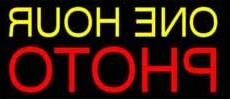 One Hour Photo Neon Sign 13 x 30