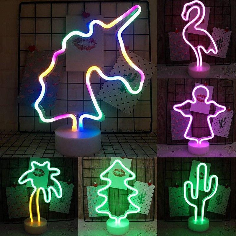 rainbow led font b neon b font