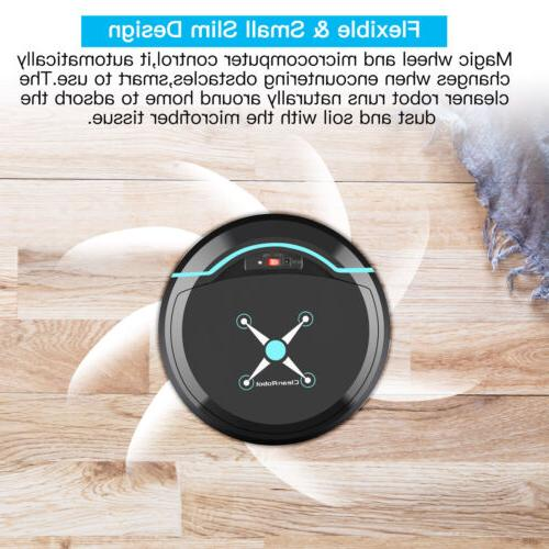 Smart Vacuum Auto Clean Sweeper Low USB Rechargeable