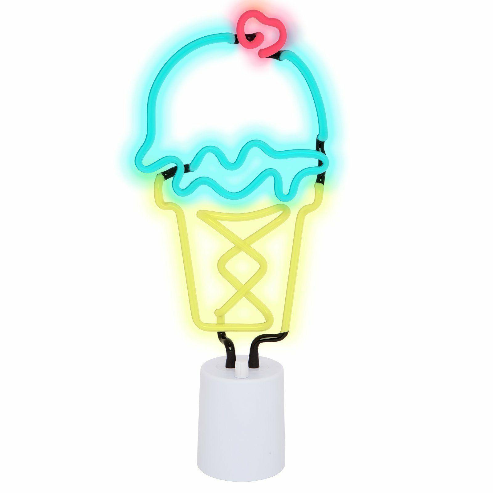 SUNNYLIFE ICE CREAM NEON LIGHT LARGE Interior PARTTY KID CHI