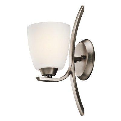 transitional wall sconce 1 light