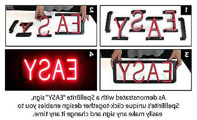 SpellBrite Sign Neon-LED