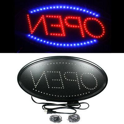 Ultra Bright LED Neon Light Animated Motion with ON/OFF OPEN
