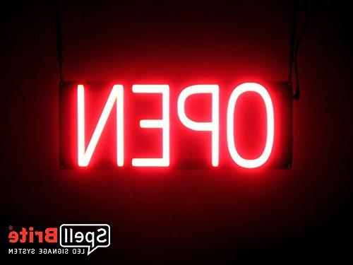 ultra bright open neon sign