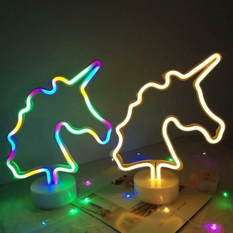 Xiyunte Light Signs - Unicorn Neon Lights