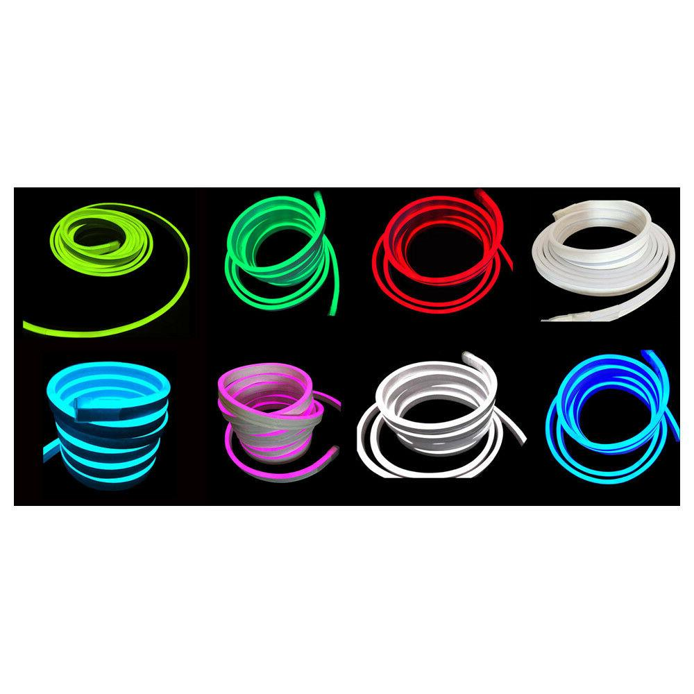 usa 100ft led neon rope lights flex