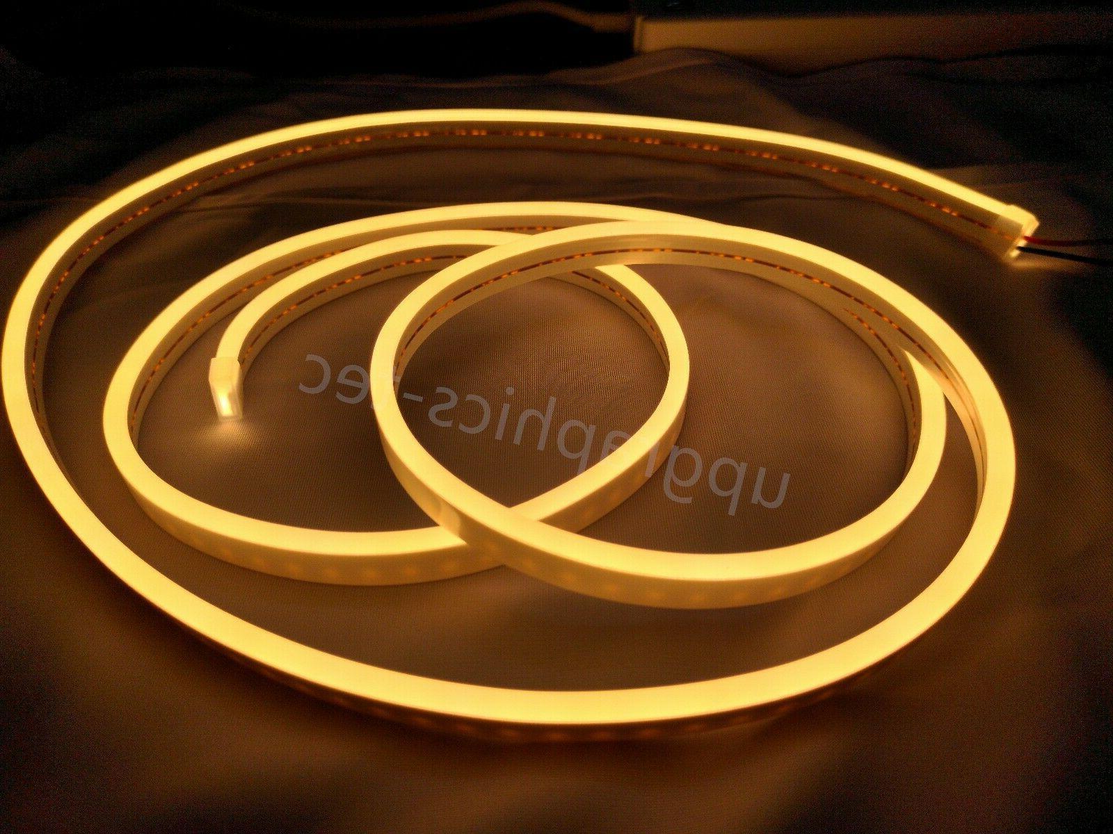warm white led neon rope light commercial