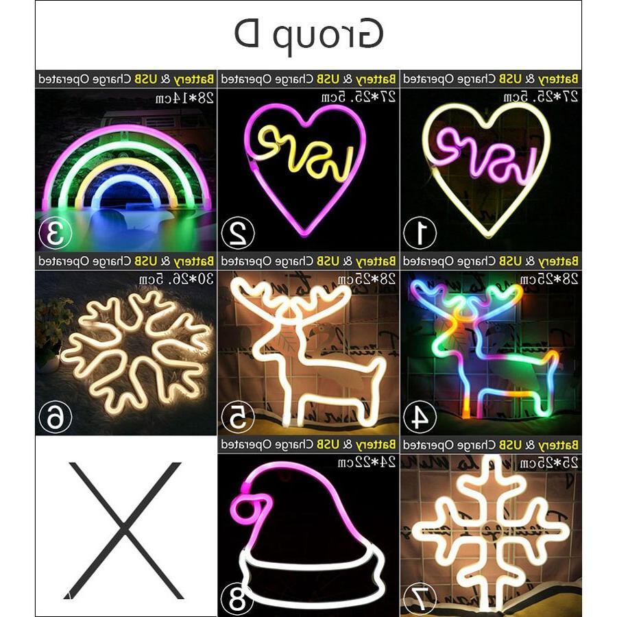Wholesale Styles Led <font><b>Neon</b></font> Colorful <font><b>Neon</b></font> Room Home Xmas Gift