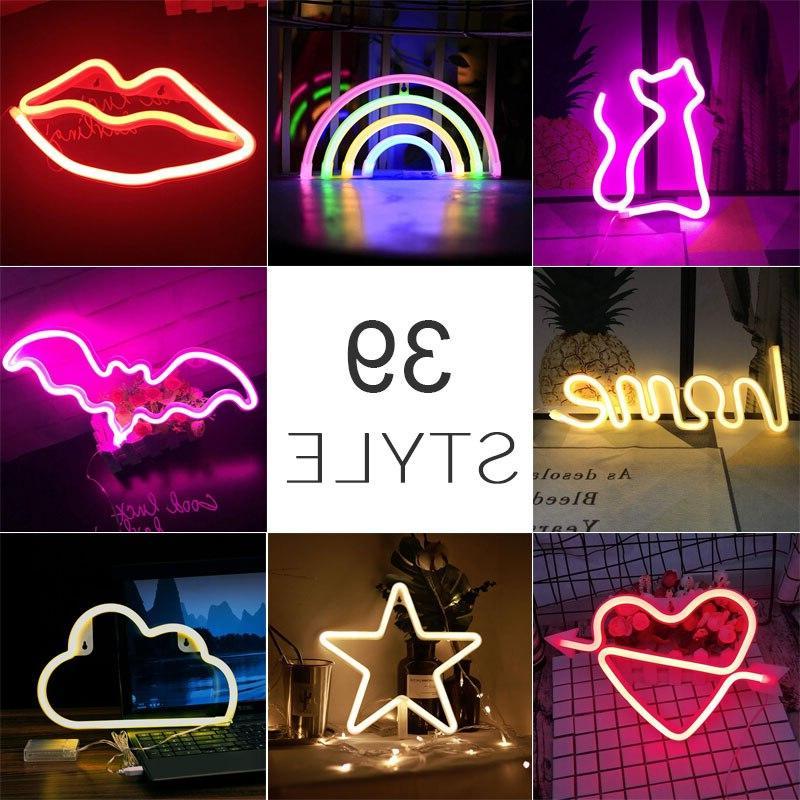 wholesale 39 styles led font b neon