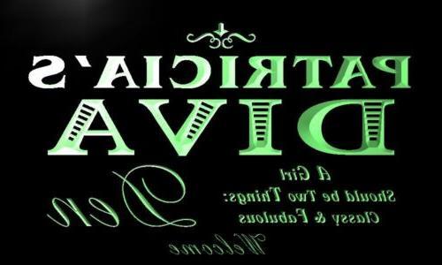 x2002-tm Patricia's Diva Girl Den Neon