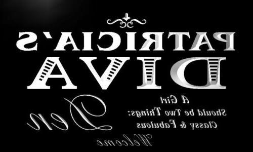 x2002-tm Diva Den Neon Sign
