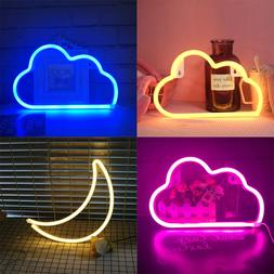 LED Cloud Design <font><b>Neon</b></font> <font><b>Sign</b><