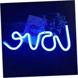 "LED Love Sign 13.70"" Large Neon Love Signs Light Art Decorat"
