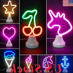 LED Neon Sign Desk Lamp Wall Lamp Night Light Neon Sign Ligh