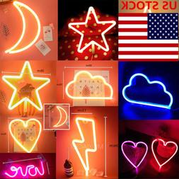 LED Neon Sign Light Store Display Background Room Shop Sign