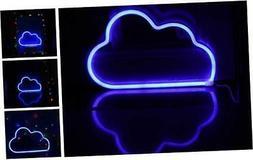 LED Neon Signs Blue Cloud Wall Decorative Night Light for Ki