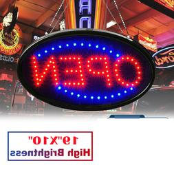 LED Store OPEN Business Sign Ultra Bright Neon Light Animate