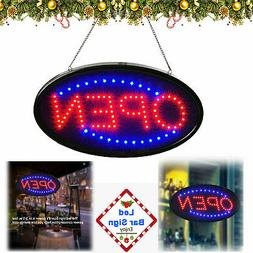 LED Ultra Bright Neon Light Animated Motion Business Sign wi