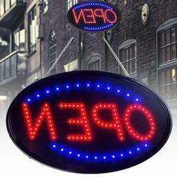 LED Ultra Bright Neon Light Sign OPEN Store Animated Motion