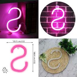 LIGHT UP LETTERS NEON SIGNS LETTER LIGHTS WALL DECOR CHRISTM