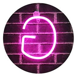Obrecis Light Up Letters Neon Signs, Pink Marquee Letter Lig