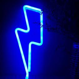 LED Neon Sign Night Light Wall Lamp Bedroom Store Artwork We