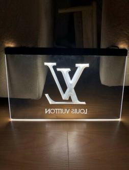 LOUIS VUITTON LED NEON LIGHT SIGN SIZE 8x12, VERY UNIQUE, CO