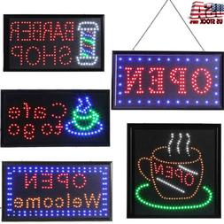 Luminous Open Business Sign Ultra Bright LED Animated Motion