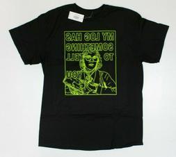 Twin Peaks Maddy Ferguson Neon Sign Black T-Shirt New! (3F5