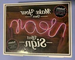 Make Your Own Neon Effect Sign Kit Pink