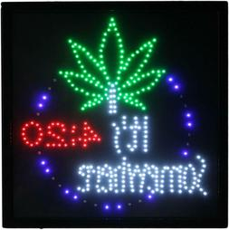 Marijuana It's 4:20 Somewhere Weed High Life Dual Color Led