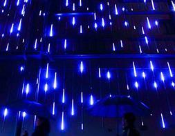 YSIM Meteor Shower Rain Lights,Ultra Bright Romantic Lights