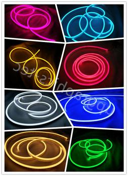 Mini LED Neon Rope Light DC12V DIY Sign Making Party Home De