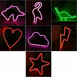 Modern Home Decoration Neon LED Sign Cloud Flamingo Dolphin